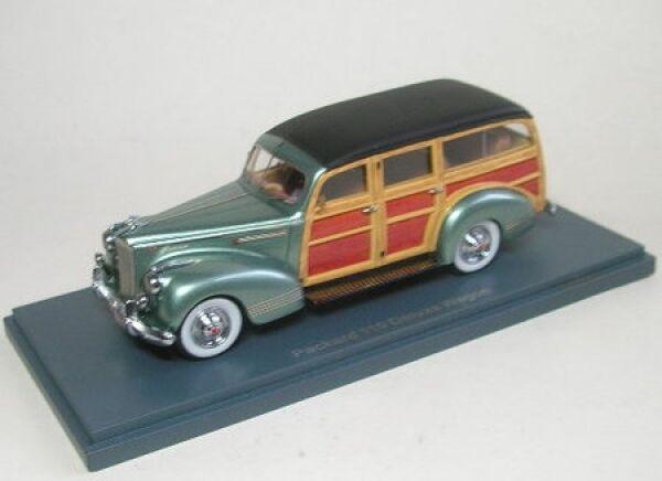 Packard 110 Deluxe Wagon Wagon Wagon (verde Metallic) 1941 1f1c4d