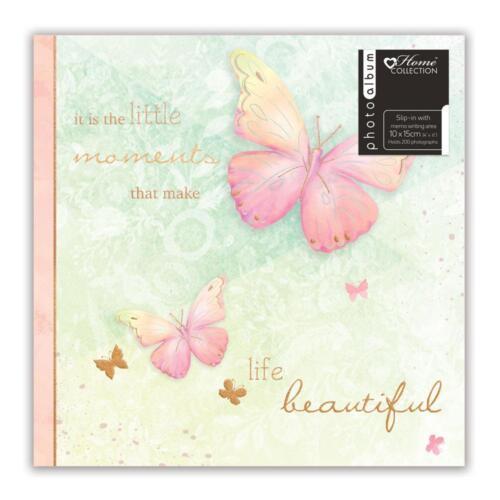 Álbum De Mariposa (6 X 4) contiene 200 fotos libro de fotos de fotos de regalo