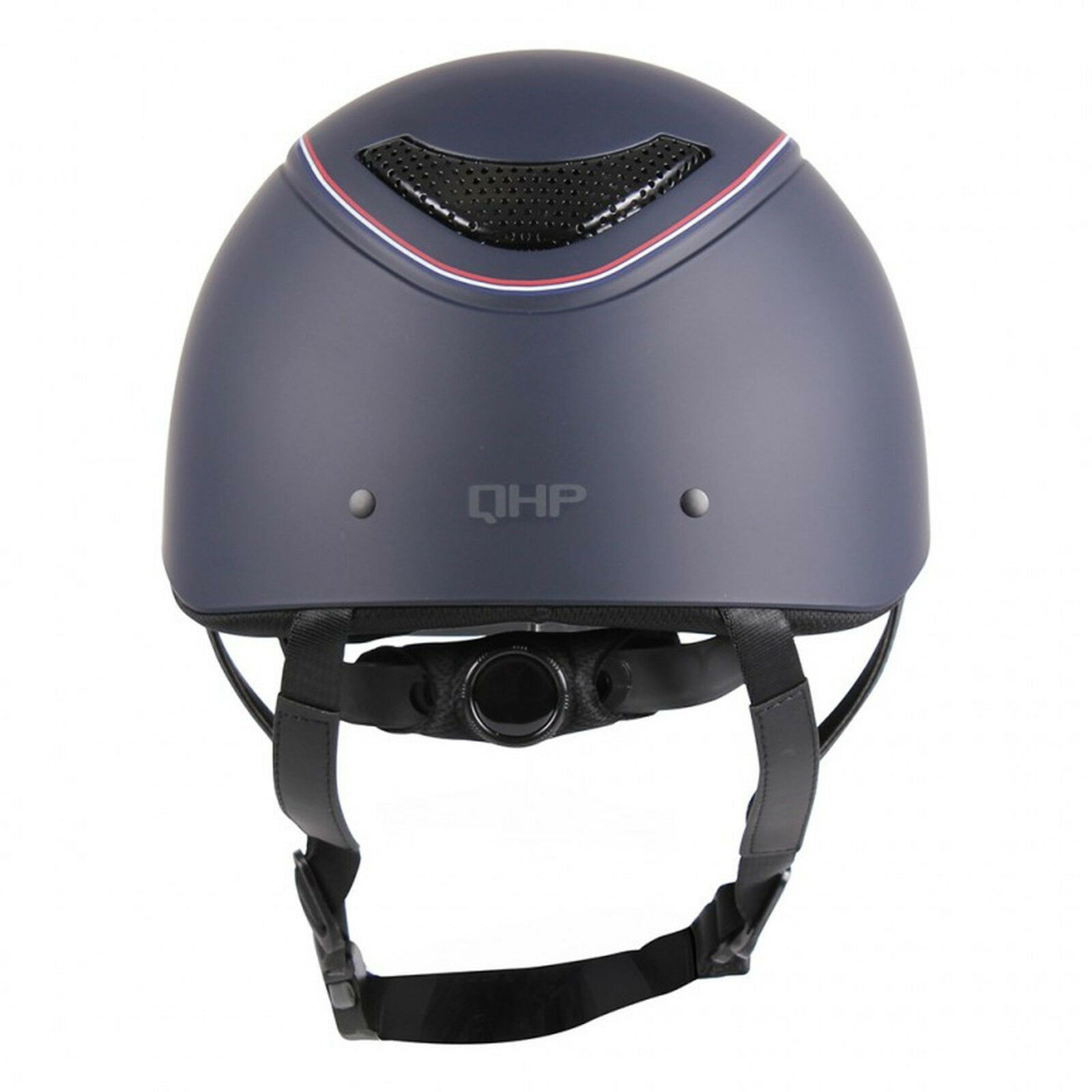 QHP Sicherheits-Reithelm Dynamic VG1 01 glatte 040 glatte 01 Schale mit Kontraststreifen d30c28