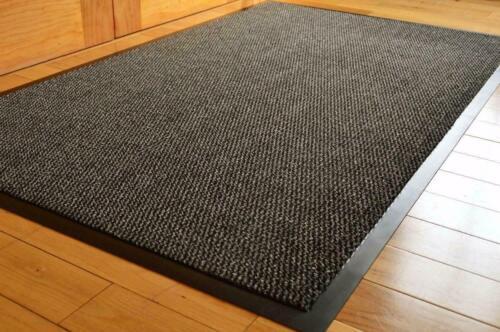 Grey Barrier Mat Kitchen Hall Dirt Trapper Entrance Doormat Showroom Matting