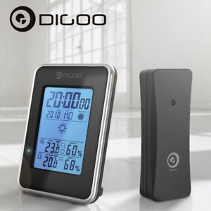 Digoo-DG-TH1981-Weather-Station-Hygrometer-Thermometer-Outdoor-Sensor-Clock