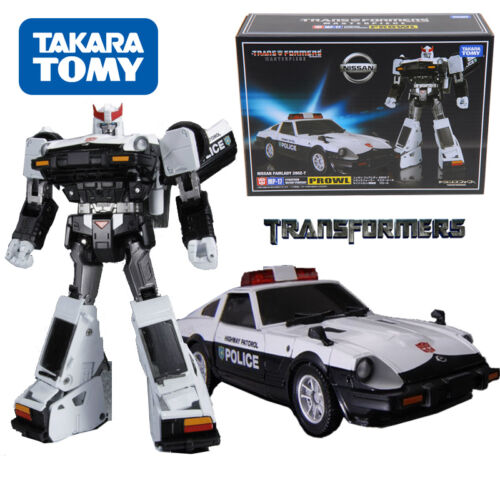 Masterpiece MP-17 Prowl Nissan Fairlady 280Z Police Car Transformers Figures KO