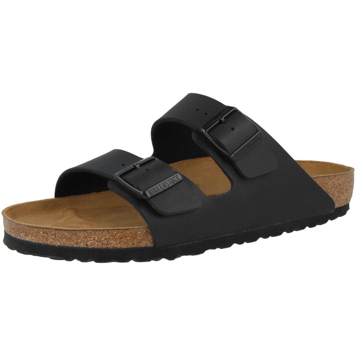 Birkenstock Arizona Birko-Flor Sandalen Schuhe schwarz 051791 Sandalen Birko-Flor Weite normal 52760b