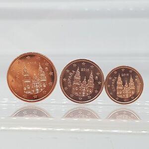 Spanien 1 2 Und 5 Cent 2016 3 Münzen Unc Ebay