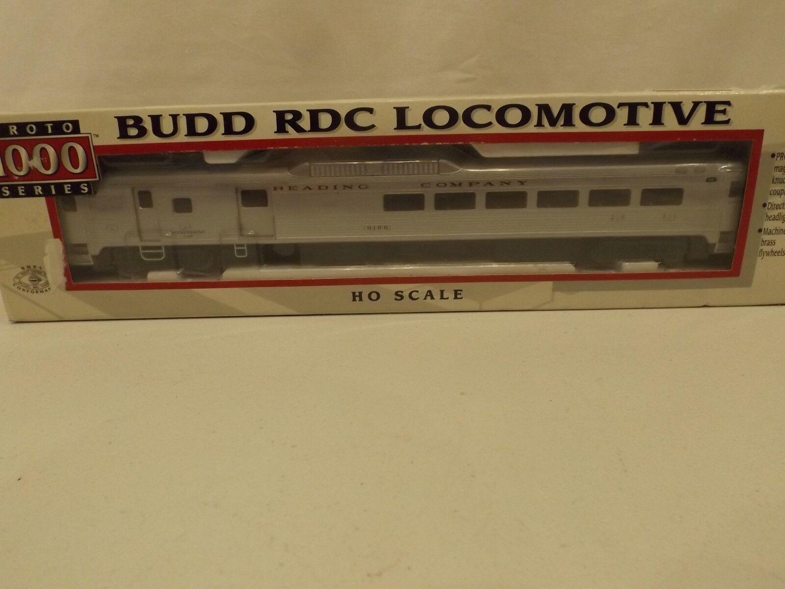 HO Proto 1000 Reading Co. RDC Budd car in Originalbox