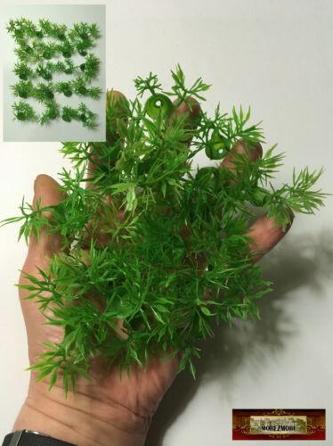 M01580 MOREZMORE 20 Artificial Plants 1:6 Scale Miniature Landscape Grass Leaves