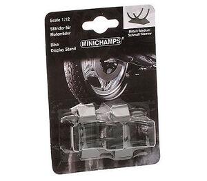 Minichamps-Motorbike-Stand-Medium-amp-Narrow-GP125-250-2-Piece-Set-1-12-Scale