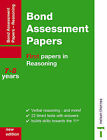 Bond Assessment Papers: First Papers in Reasoning 7-8 Years by J. M. Bond (Pamphlet, 2001)