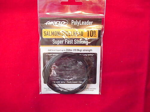 Air Flo Poly Leaders 10ft Super Fast Sinking NEW
