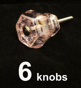 """1 MEDIUM 1.25/"""" JADEITE GREEN GLASS Kitchen Cabinet Drawer Knob Depression"""