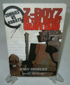 Zombies vs Robots Z-Boys in the Robot Graveyard IDW Comic Book TPB Brand New