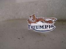 vintage Triumph Tiger     cloisonne  pin vintage item