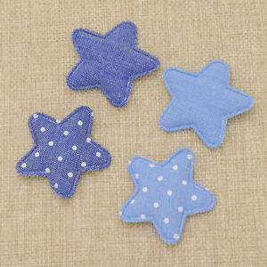 Details About Denim Star Kawaii Kids Patches For Baby Garment Accessories Diy Sewing Crafts