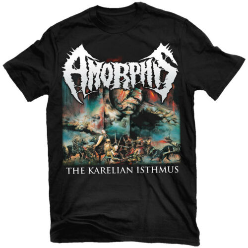 AMORPHIS The Karelian Isthmus T-Shirt NEW Relapse Records TS2996