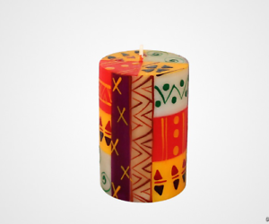 Candles-Nobunto-Indabuko-Design-Hand-Painted-Fall-Thanksgiving-decoration