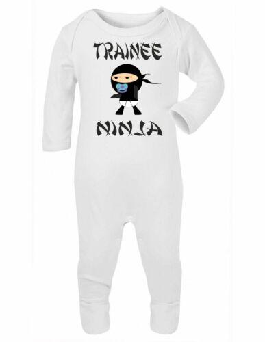 Drôle bébé surpyjama Douche Cadeau vêtements garçons filles stagiaire Ninja