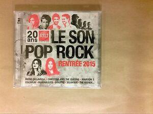 BOITIER-2-CD-RTL2-LE-SON-POP-ROCK-RENTREE-2015-NEUF-SOUS-CELLO