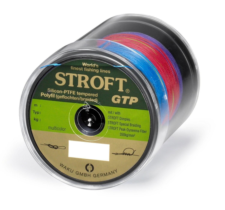 Cable Stroft Gtp Tipo R Trenzado 500m MultiColor Línea de Pesca Tendón Cuerda