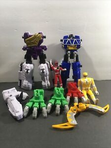 Power Rangers Dino Super Charge Lot Plesio Charge Megazord Incomplete