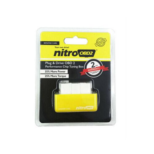 Spina ed azionamento interfaccia tuning box NITRO OBD2 per auto diesel benzina