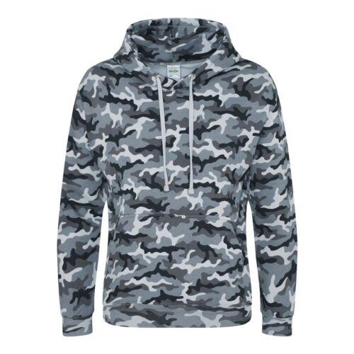 Camo Hoodie 4 Colours  Camouflage  Mens  XS  2XL  Fishing Hunting Hood