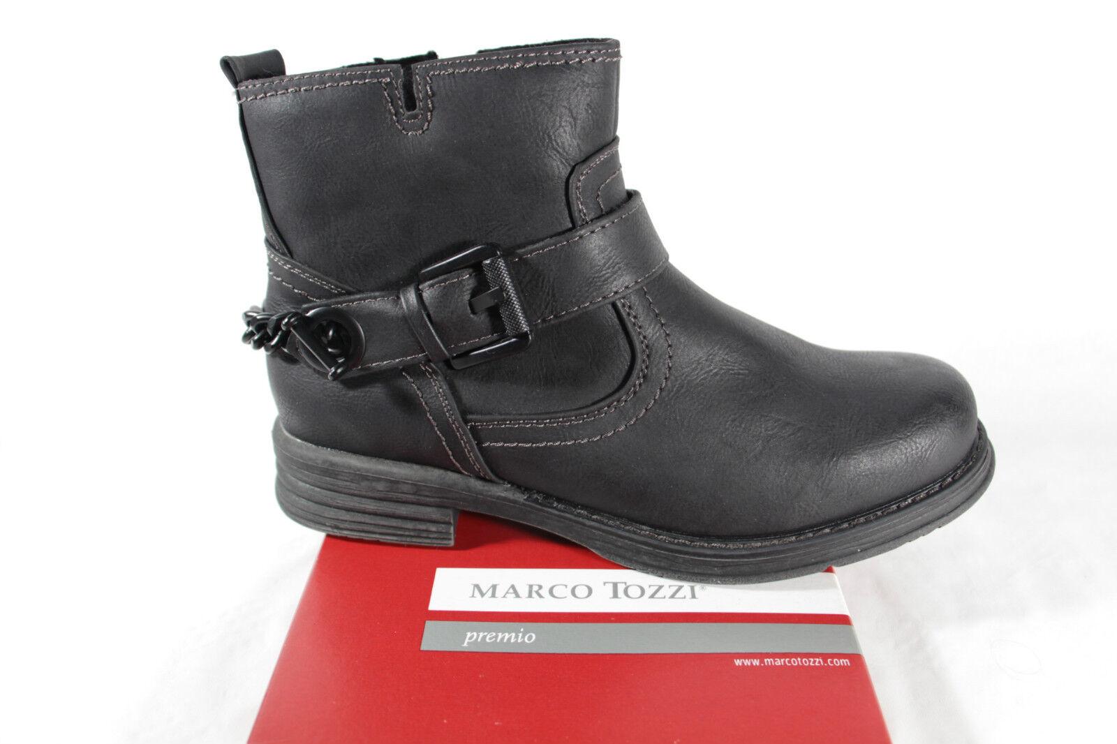 Marco Tozzi bottes pour Femme 25451 bottes Bottines bottes D'Hiver noir Rv Neuf