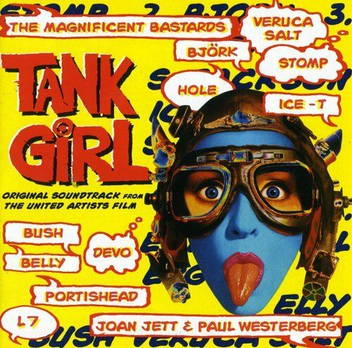 Various Artists - Tank Girl (Original Soundtrack) [New CD] Manufactured On Deman