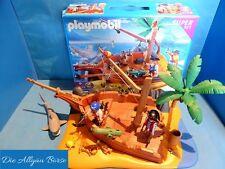 Playmobil 4136 Seeräuberinsel Superset m. OVP Pirat Schatz Insel Hai