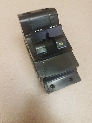 FPE NB2100 100A FEDERAL PACIFIC FPE 100 Amp MAIN BREAKER Bolt-On Type NB