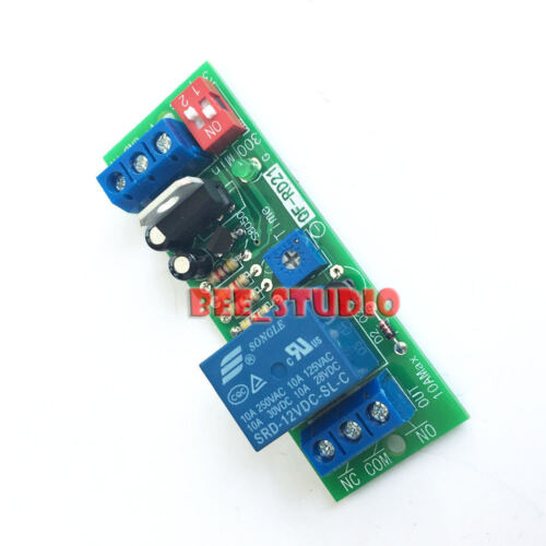 DC 12V Signal Trigger Control Timer Relay Switch Time Delay Turn Off Module