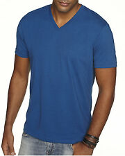 Next Level Mens Premium Fitted Sueded V Neck T Shirt Vneck Tee XS-2XL 6440