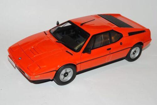 Bmw m1 Coupe naranja rojo 1978 1//18 norev modelo coche con o sin individiuell...