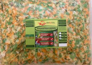Teich-Flocken-10-Liter-BEUTEL-1-2-kg-Fischfutter-Pondfood-Teichfutter-Futter-Koi