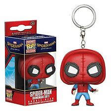 Funko Spider-Man Homecoming Pocket POP Homemade Suit Figure Keychain NEW Toys