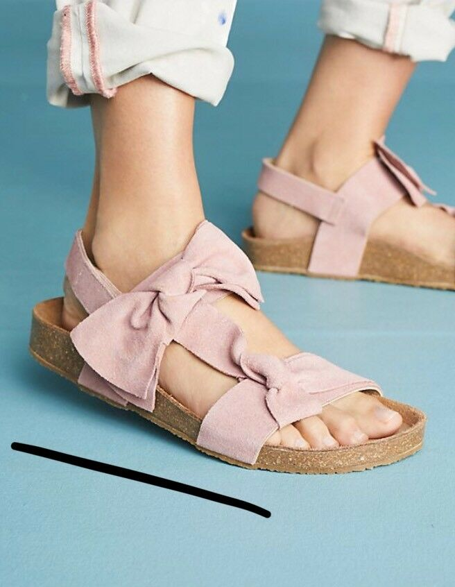 Jeffrey Campbell Campbell Jeffrey Suede Bow Sandales 38 a13f41