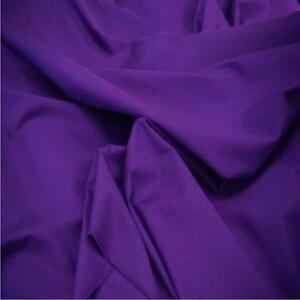EXTRA-WIDE-Purple-Poly-Cotton-240cm-96-inch-sold-by-the-metre-fabric-material