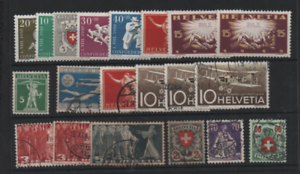 Suisse-Utiles-Comme-neuf-and-used-collection-WS13228
