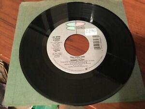 """Robert Plant (Led Zeppelin) """"Tall Cool One""""/ """"White Clean & Neat"""" 45 in VG+"""