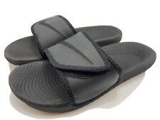Nike Kawa Adjust Triple Black Adjustable Strap Sport Sandals ...