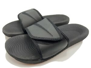 nike kawa adjustable slides mens