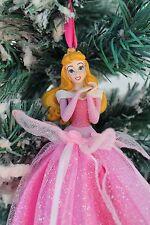 "Disney Parks Sleeping Beauty Princess Aurora Designer Dress Ornament 6"" NWT"