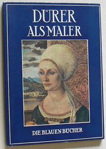 DURER-als-Maler-Die-blauen-Buecher-Text-Johannes-Beer-Langewiesche-1953-EA