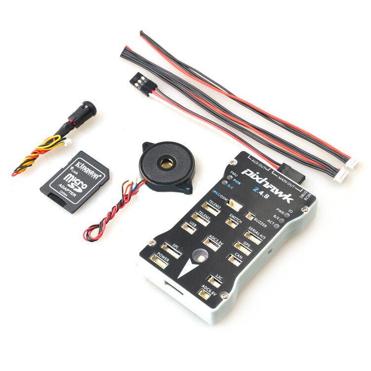 Autopilot 32Bit Flight Controller  w/ Safety Switch & Buzzer Case T-F Card kit