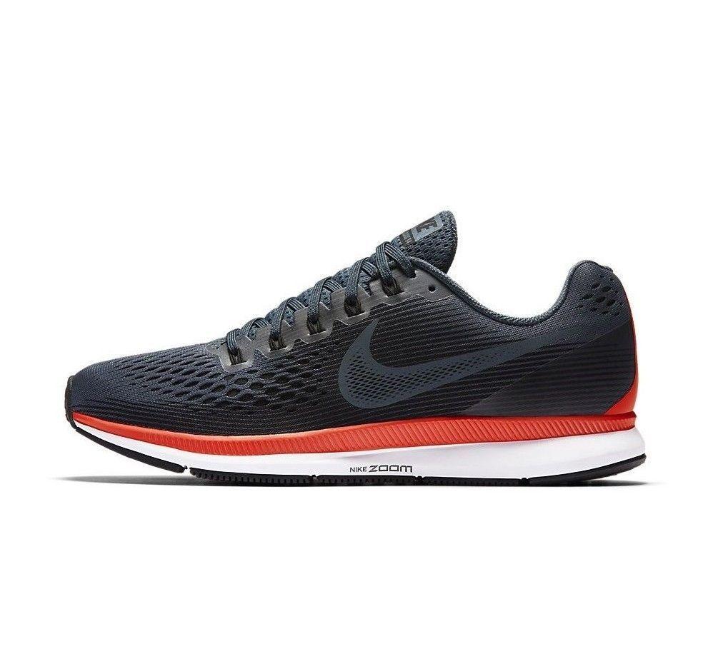 HOMBRE Nike Air Zoom Pegaso 34 Zapatillas Azules Zorro Negro Carmesí 880555 403