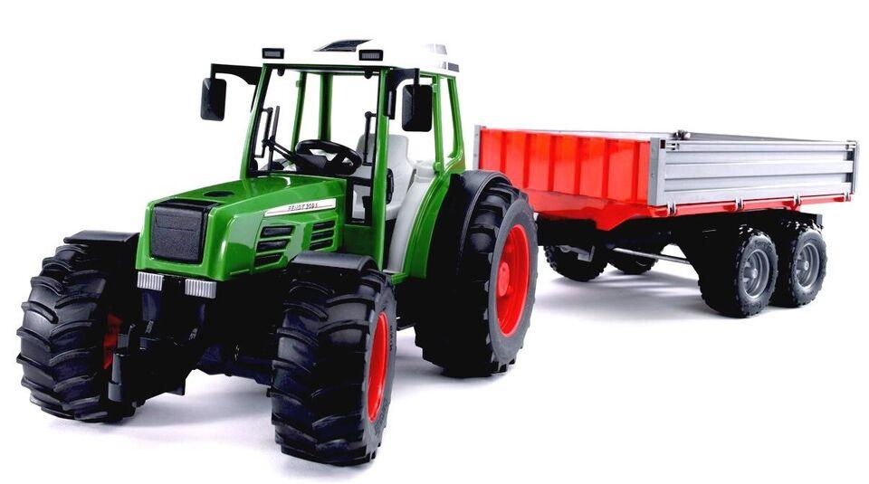 Traktor Fendt 209 S med tipvogn , Bruder - 2104