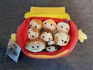 Disney-Store-Tsum-Tsum-Beauty-and-the-Beast-Footstool-Bag-Set-New-tsumtsum-tsums