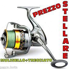 mulinello spinning trecciato incluso traina pesca mare lago siluro PL1342