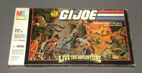 Vintage 1986 GI Joe Live the Adventure Board Family Game NEW Sealed