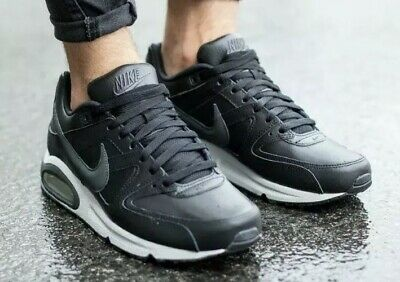 New Nike Air Max Command Leather Black
