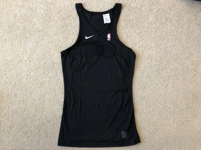 830953-010 NWT Men/'s Nike Dry Basketball Tank Black//White